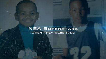 NBA選手の今と昔の写真