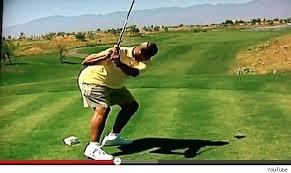 バークレーのゴルフグスイング(笑)