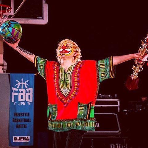 BUGさん、フリースタイルバスケットボール二連覇達成!!
