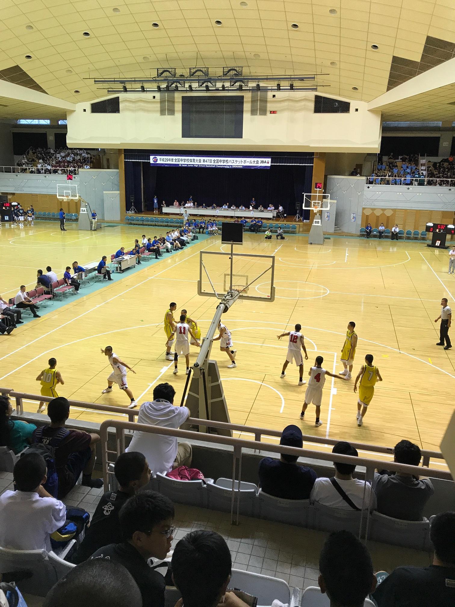 第47回全国中学校バスケットボール大会、男子決勝トーナメント!