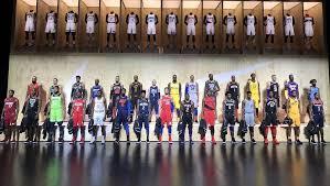 NBA全30チームの新ユニフォーム、お披露目会!!