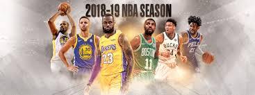 NBA2018-2019シーズン明日開幕!!!