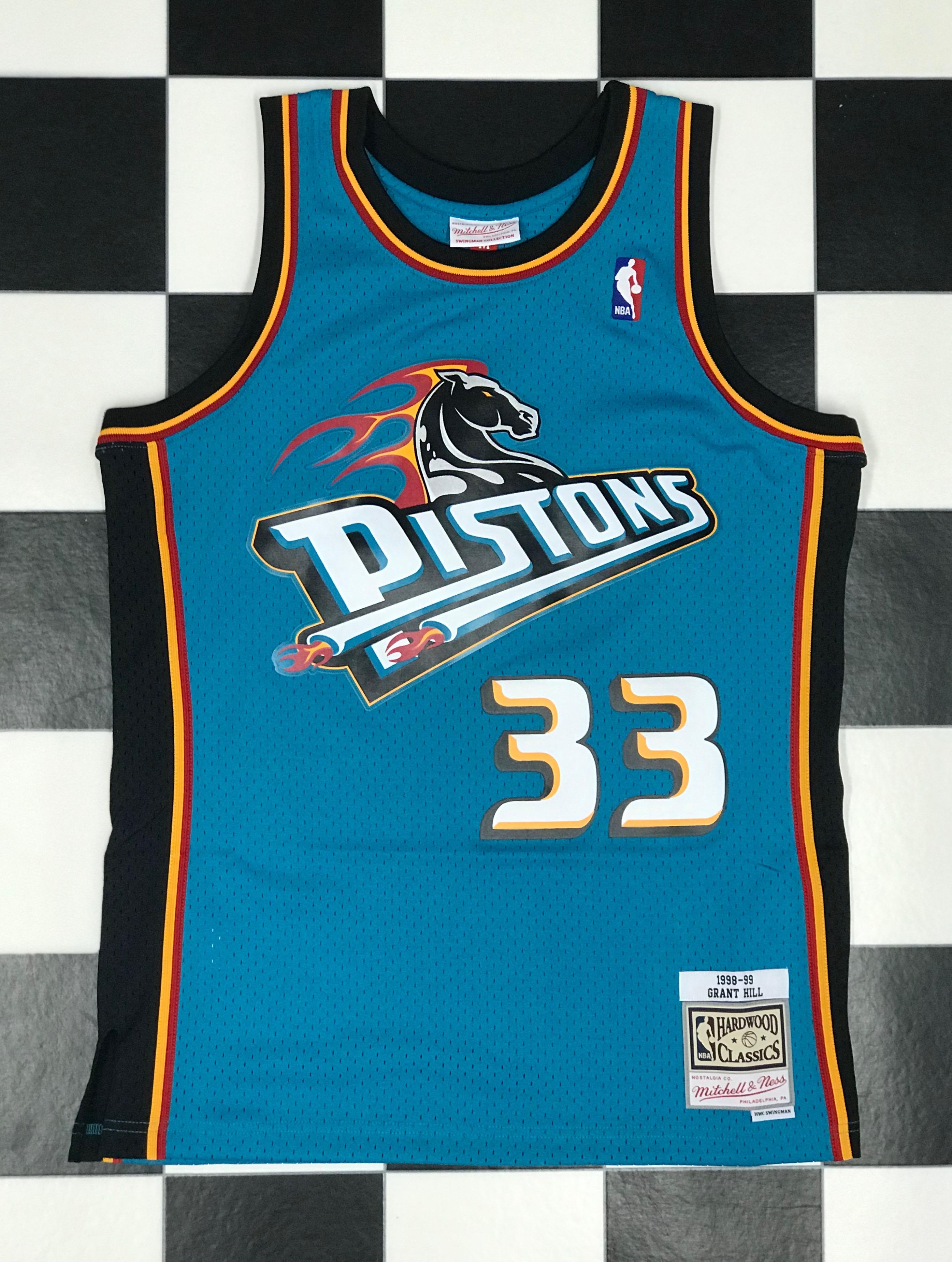 best service 074c3 5928e Swingman Jersey Detroit Pistons 1998-99 Grant Hill - LOCKER