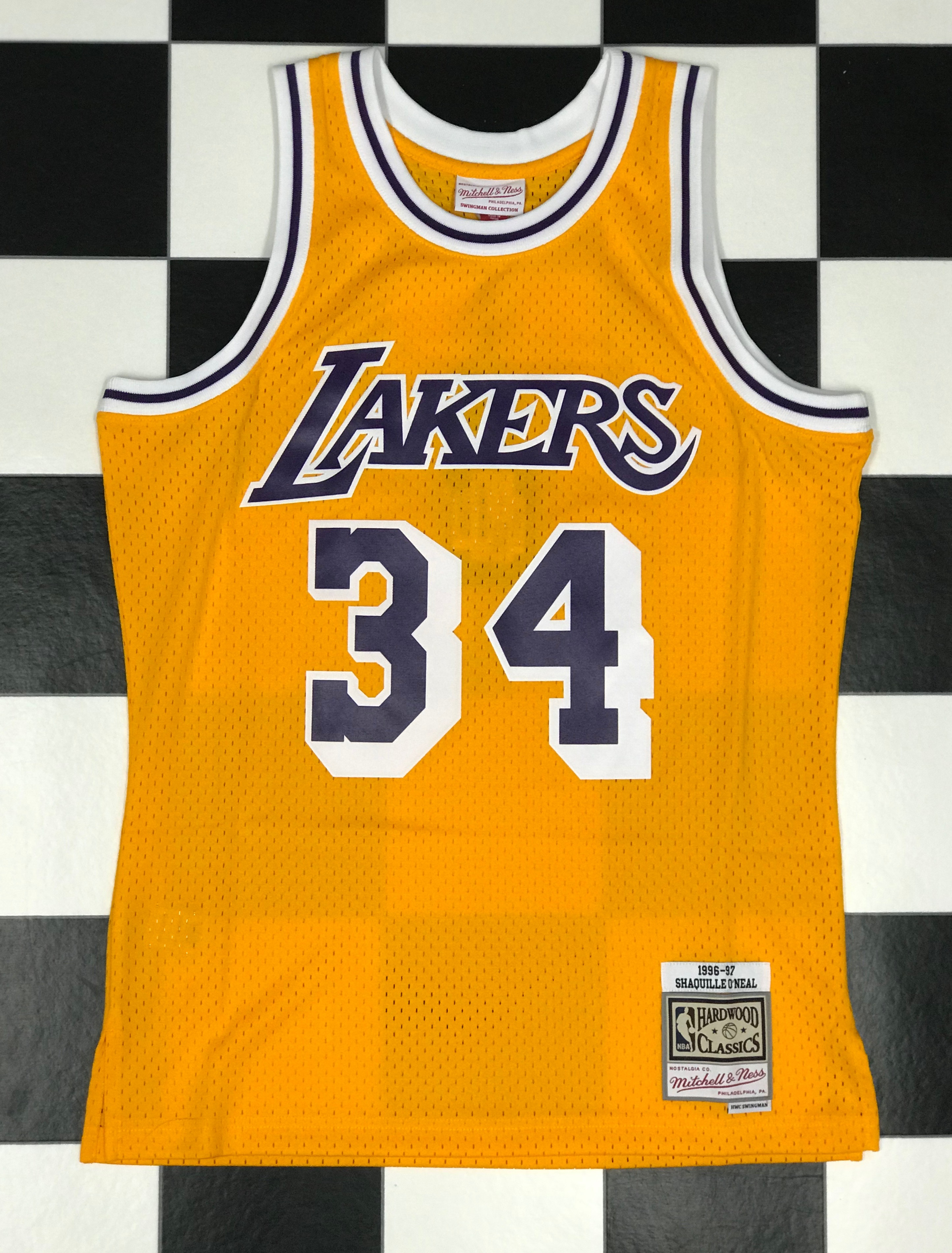 quality design 22577 38f62 Swingman Jersey Los Angeles Lakers 1996-97 Shaquille O'Neal ...