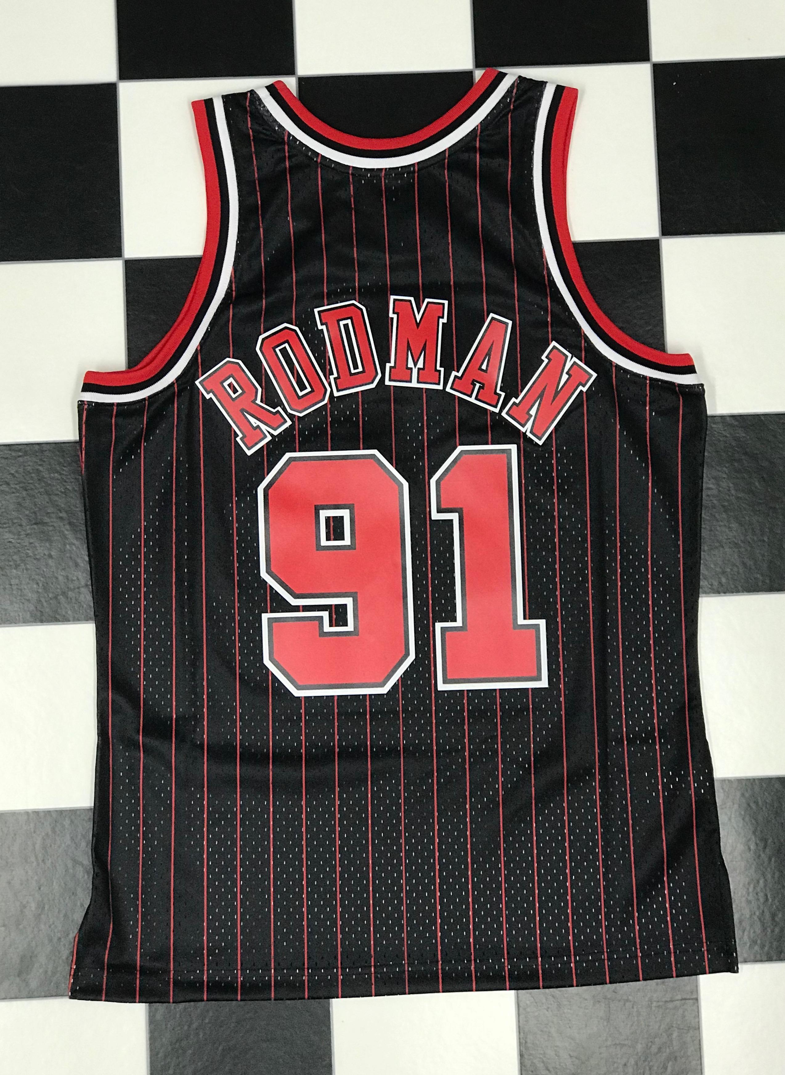 free shipping 99872 ffba0 Swingman Jersey Chicago Bulls Alternate 1995-96 Dennis ...